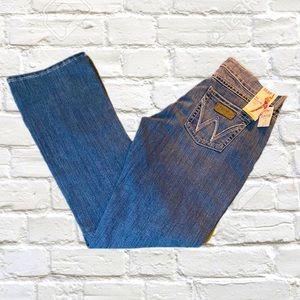 Wrangler boot cut jeans women's 7/8x34